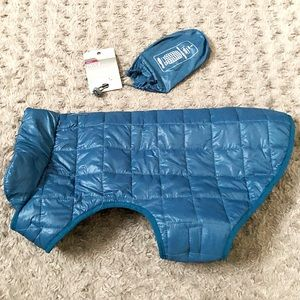 New! Dog Puffer Jacket Paid $25 size L Pack & Go!